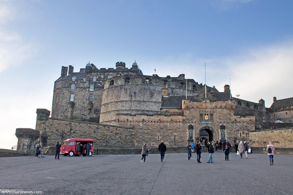 L'entrata del Castello di Edimburgo
