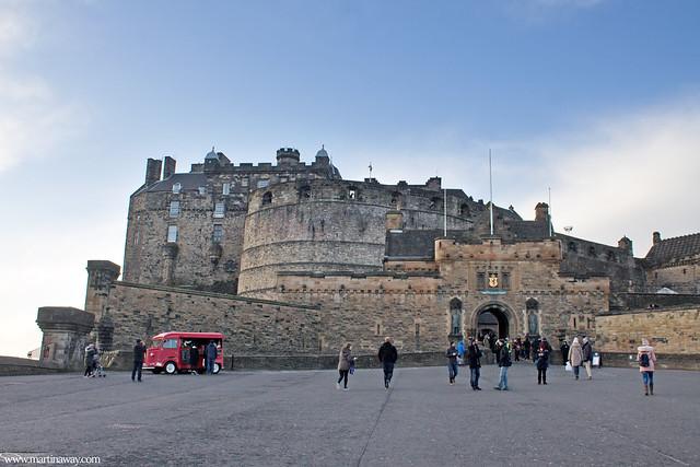 L'entrata del Castello di Edimburgo, Edimburgo cosa vedere