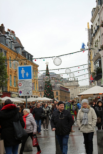 Lille during the Christmas time