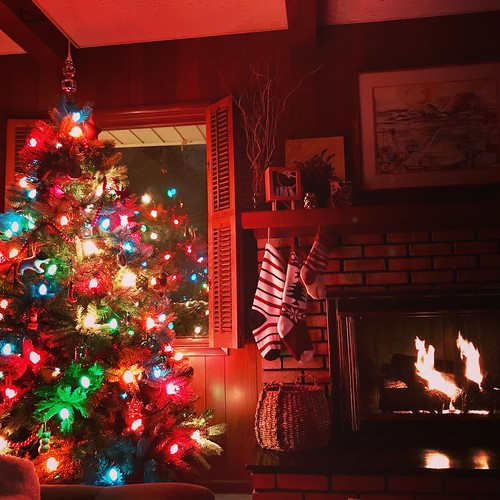 it's been such a lovely, cozy Christmas at our home; snowing still here & nice to be snuggled up by the fire  #cozychristmas #merrychristmas #homesweethome