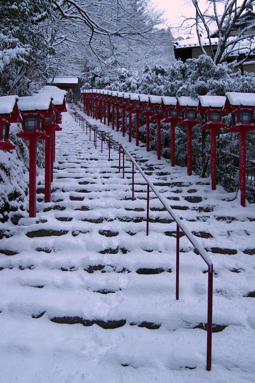 貴船神社(Kifune Shrine) 雪景色-2