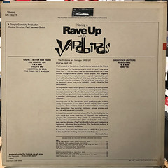 THE YARDBIRDS:HAVING A RAVE UP WITH THE YARDBIRDS(JACKET B)