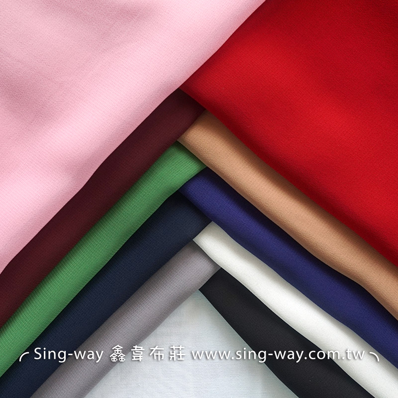 素面雪紡紗 裝飾服裝布料 IA390001
