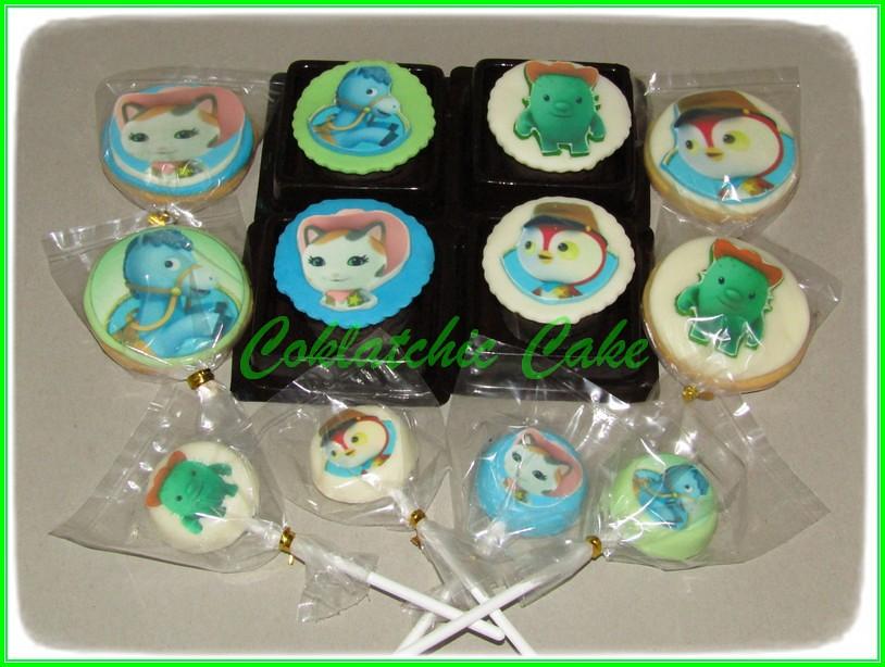 Cupcake Cookies lolipop Sherrif Callie