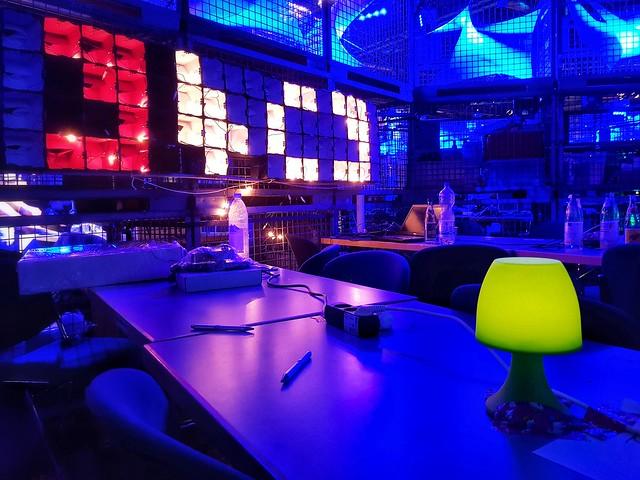 #34c3 Geek Corner w/ Lamp