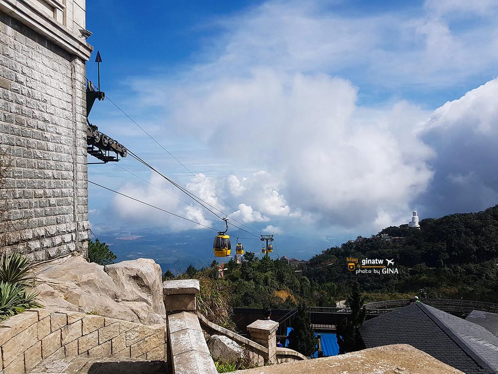 越南峴港會安自由行》巴拿山(Sun World Ba Na Hills)越南小法國超夢幻!歐洲法式城堡建築置身雲端空中花園 越南人外拍婚紗勝地 絕對讓你拍到不想回家! @Gina Lin