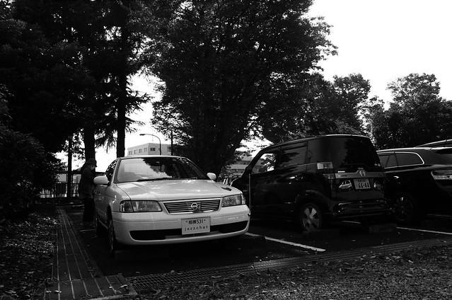 国立相模原病院駐車場