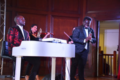 DSC_6726 Black British Entertainment Awards BBE Dec 2017 at Porchester Hall London by Jean Gasho Co Founder of BBE with Absolutely Brilliant Performance by Okiem-Xiro who was Awarded the Best Music Album with Vocalist Kofi Nino Ghana's Opera Singer