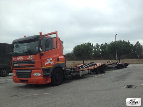 De Rooy DAF CF Truck Transporter - Viseu