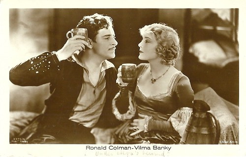 Vilma Banky and Ronald Colman in Two Lovers