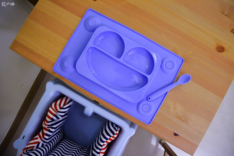 easymat餐盤防拔嬰兒餐具吸盤嬰兒餐具推薦嬰兒副食品餐具推薦EasyMat防滑矽膠餐盤 (4)