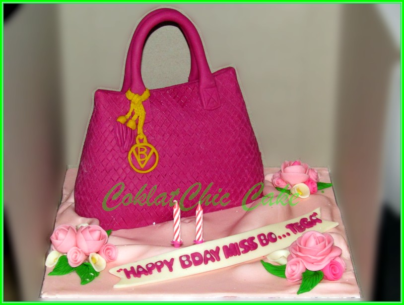 Cake branded Bag Miss Bo...tega 15cm