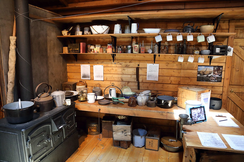 Mawson's kitchen