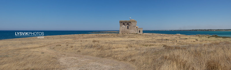 Watch tower Torre Guaceto, Puglia Panorama XXL