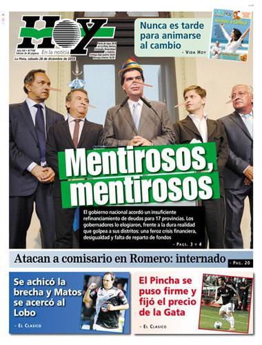 Tapa Diario Hoy