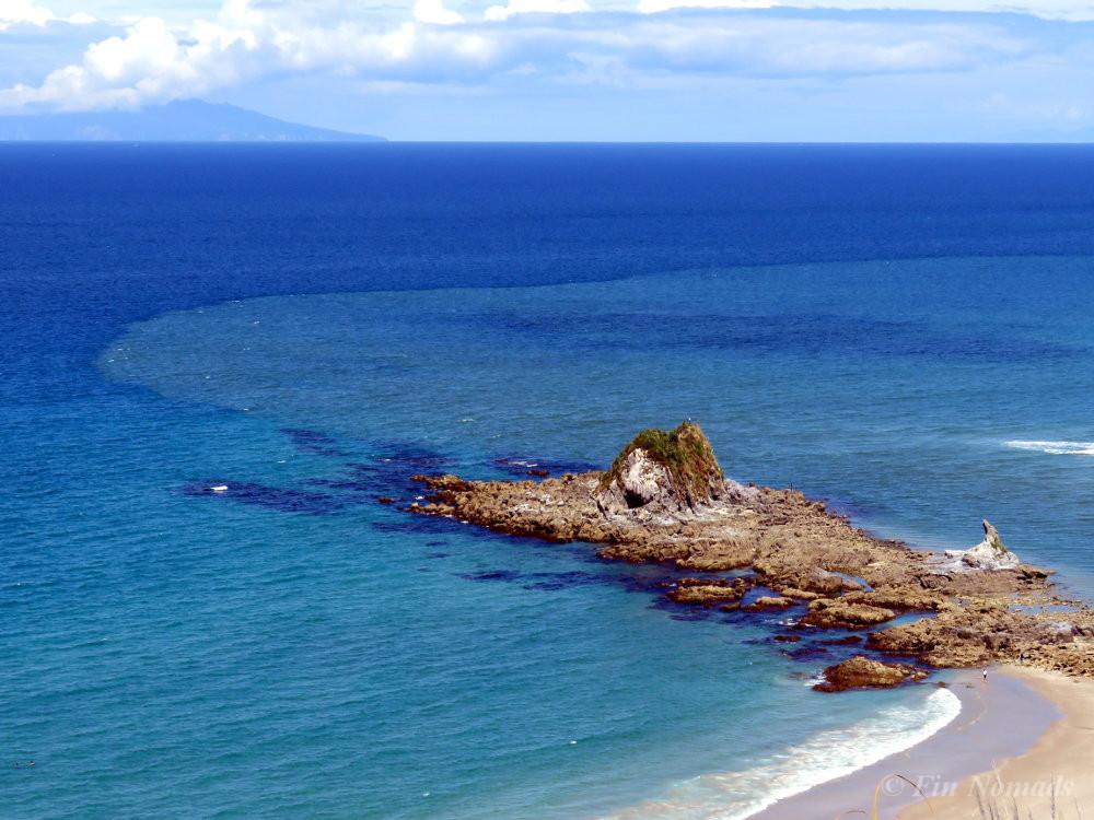 New Zealand blue ocean