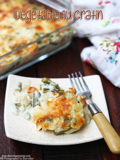 vegetable au gratin recipe