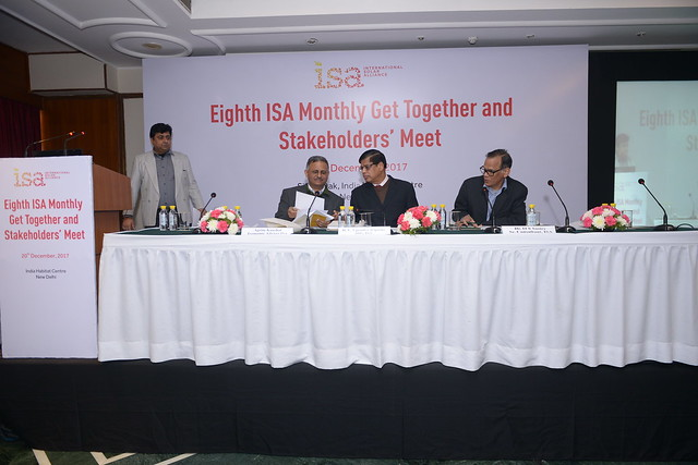 Eighth ISA Monthly Get Together and Stakeholders` Meet  20th December, 2017