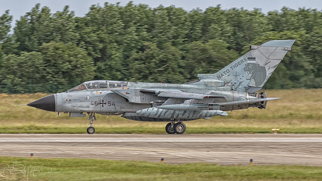 German Air Force BAe Panavia Tornado ECR 46+54