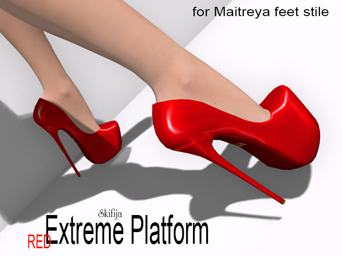 -SKIFIJA- Extreme Platform(Red) for Maitreya feet style