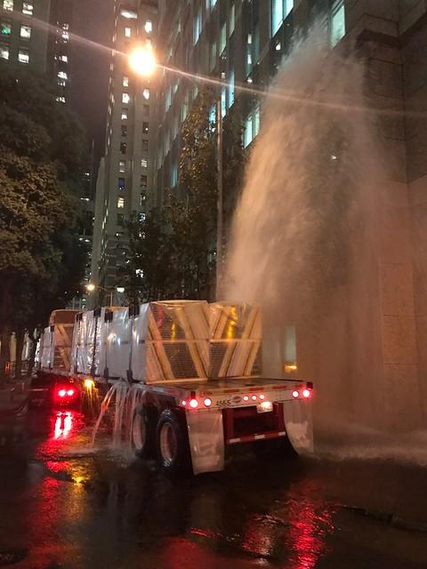 Fire hydrant vs. truck