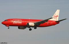 Virgin Express Boeing 737-405 OO-VEK / BRU