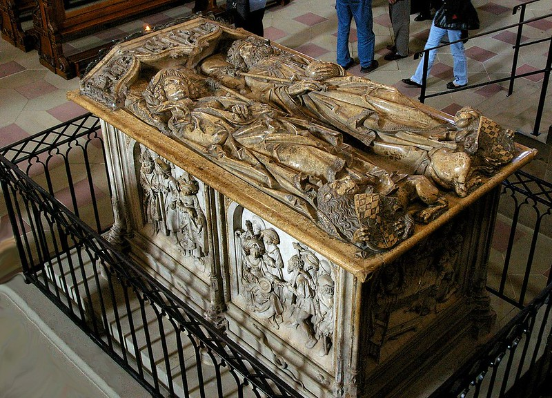 Tomb of Emperor Henry II and Empress Cunigunde made by Tilman Riemenschneider