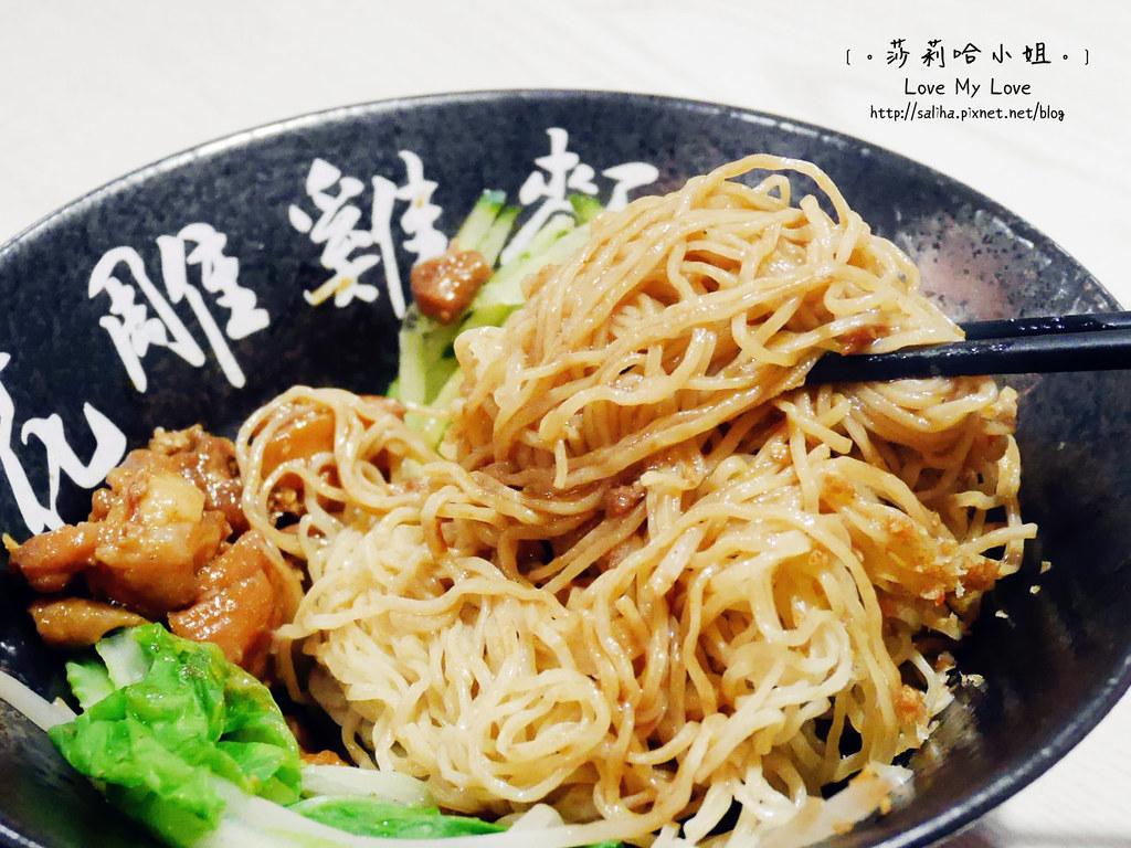 台北文山區捷運景美站附近餐廳一品花雕雞麵 (21)