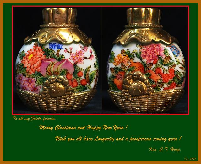 佳節愉快 多子多孫多福壽 Merry Christmas and a happy new year!