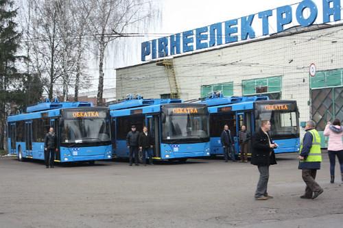 Електробуси поїдуть 11-м та 12-м маршрутами