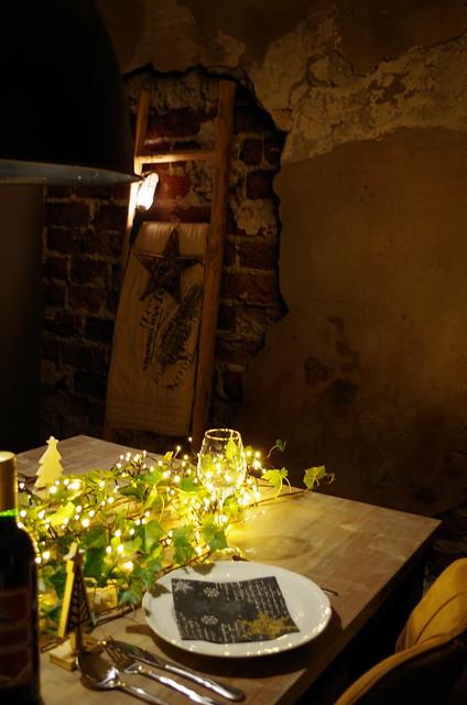 Tafeldekken met kerst ideeën