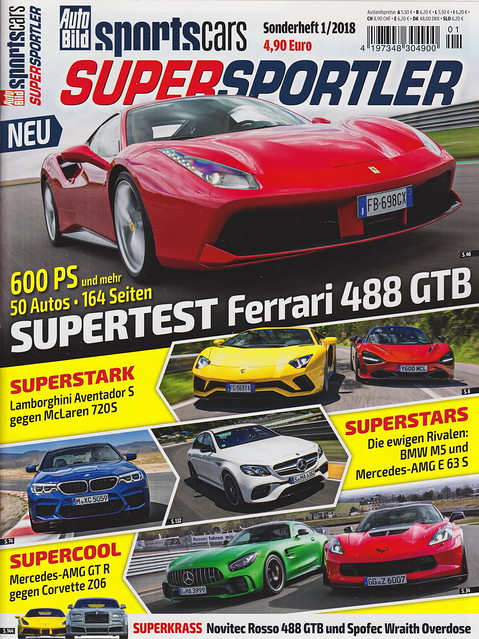 Auto Bild Sportscars - Supersportler 1/2018