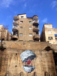 Graffiti & Archiitcure of Amman