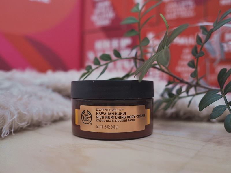 the body shop hawaiian kukui vartalovoide