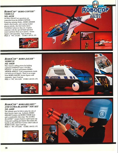 Robocop and the Ultra Police (Kenner) 1988-90 27553706829_6307b3b228