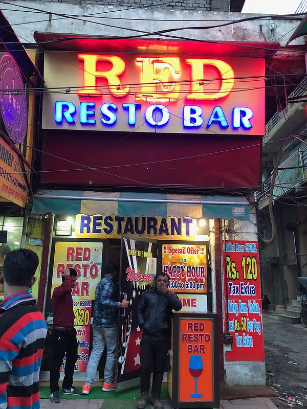 City Hangout - Red Resto Bar, GB Road Red Light