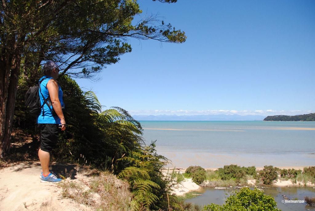 Hemmo lenkkipolulla, Kaiteriteri, Uusi-Seelanti