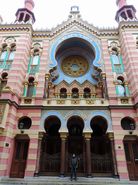 Jubilee Synagogue, Prague, Czech Republic