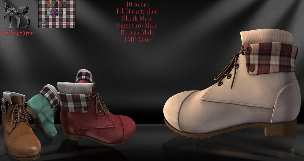 Wintercame Boots - TeleportHub.com Live!