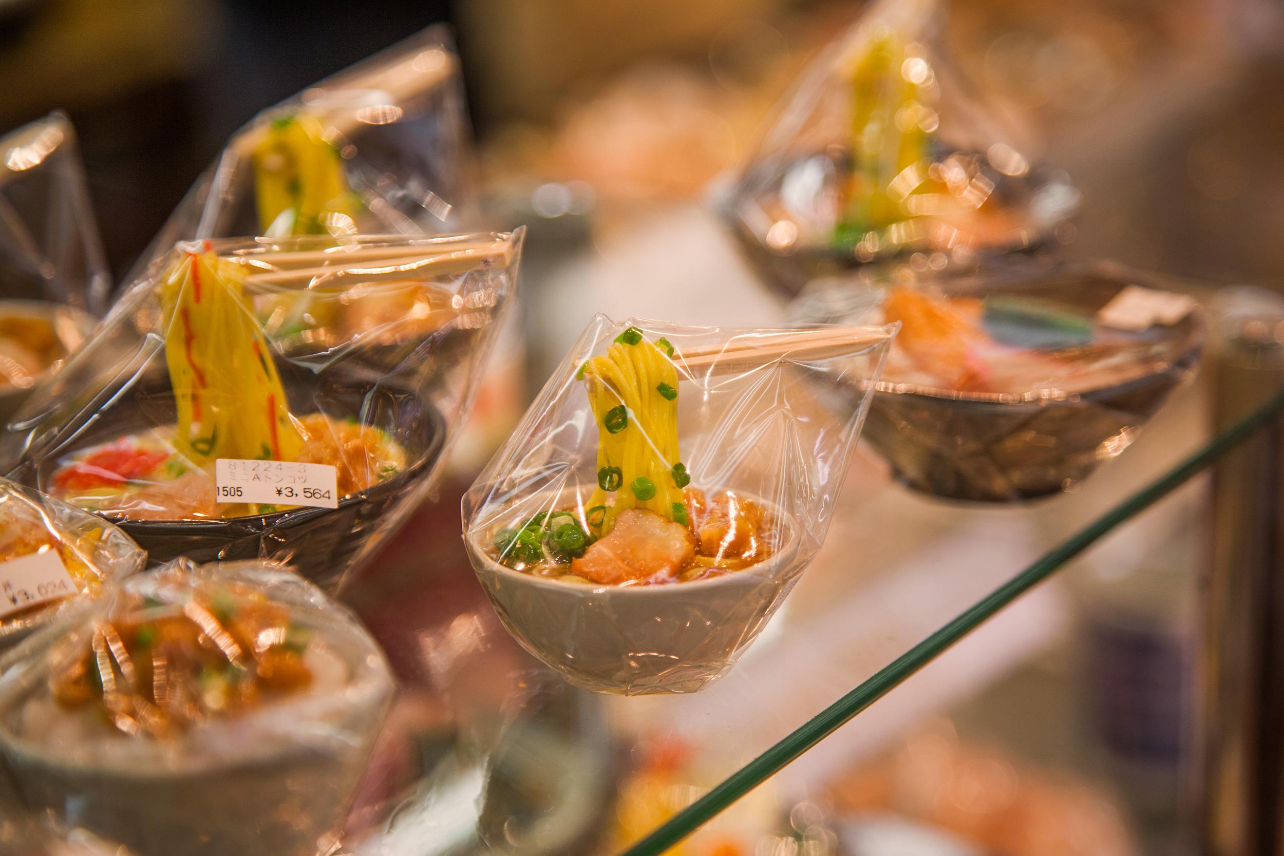 Plastic Noodles at Kappabashi