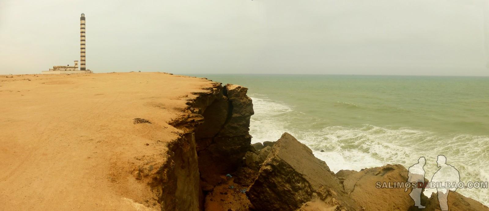 162. Pano, Paseo del Faro a la playa, Dakhla
