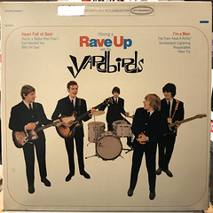 THE YARDBIRDS:HAVING A RAVE UP WITH THE YARDBIRDS(JACKET A)