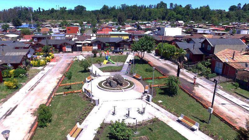 Plaza Gerónimo de Alderete - Barrio Ancahual - Villarrica
