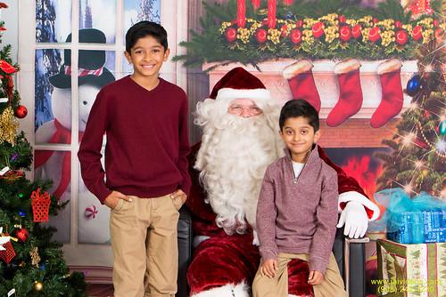 Santa at Teecs-2
