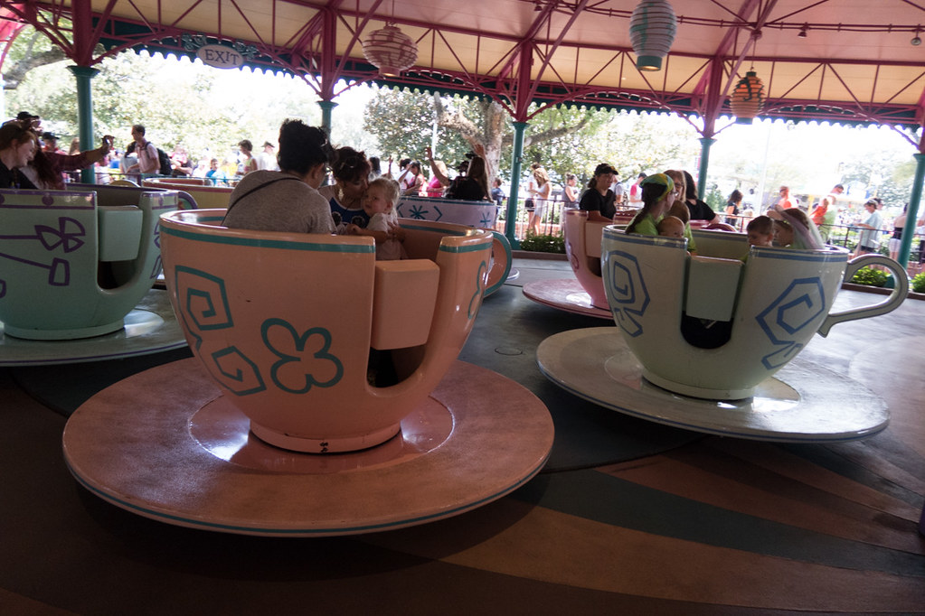 Mad Tea Party at Disney World