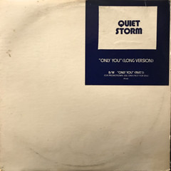 QUIET STROM:ONLY YOU(JACKET A)