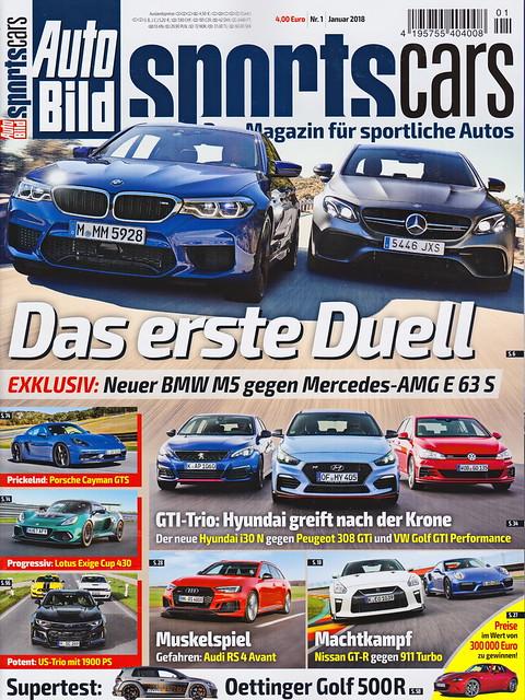 Auto Bild Sportscars 1/2018