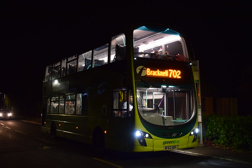 Last day of First on the 702 - First Berkshire 37999/BF63HDY | Route 702 | Winkfield, The Squirrels PH