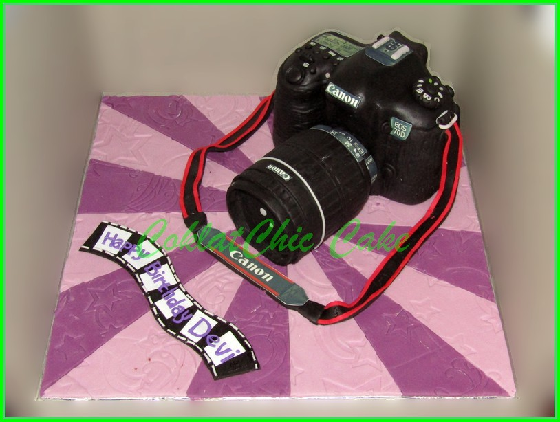 Cake Canon EOS 70D DEVI real Size