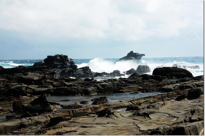 海蝕平台青蛙石 1